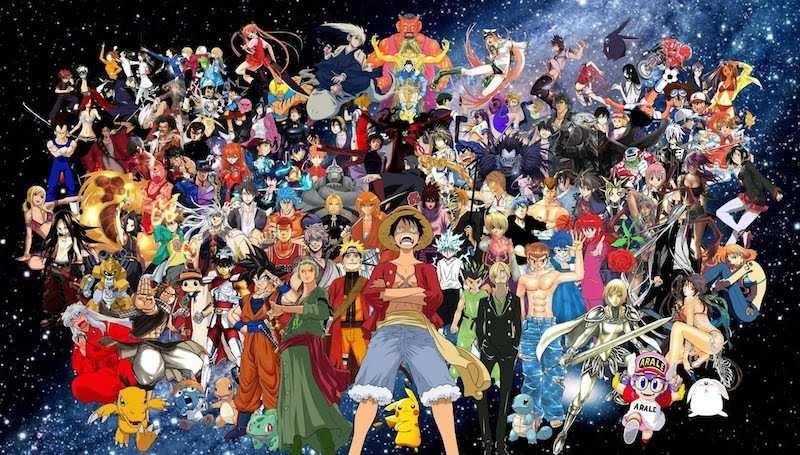 manga anime ve çizgi film kahramanları