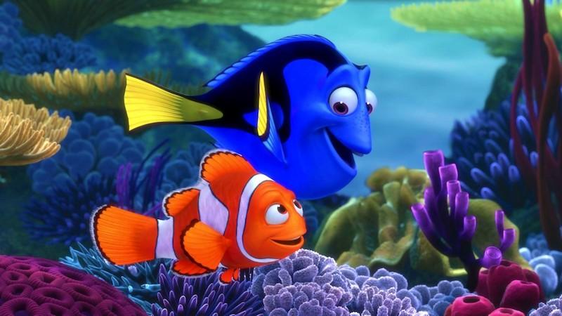 çizgi film kayıp balık nemo