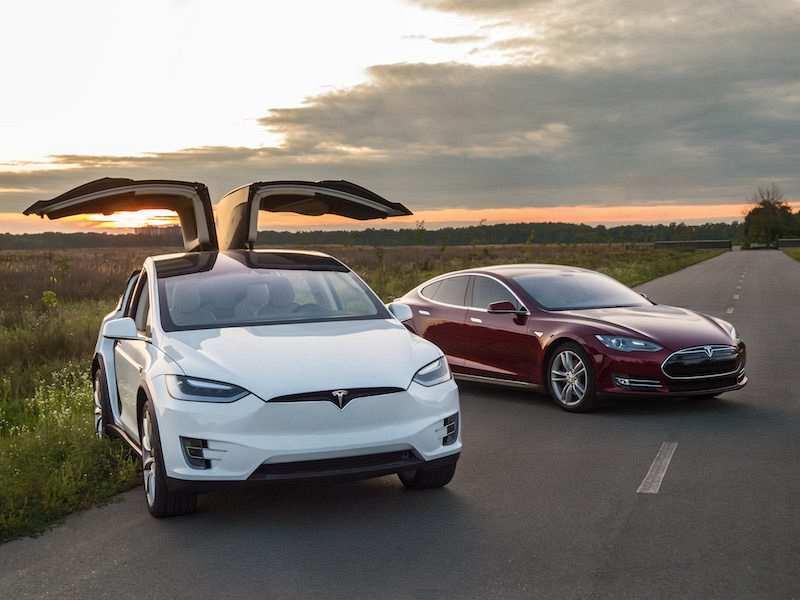 Tesla Model X ve Model S