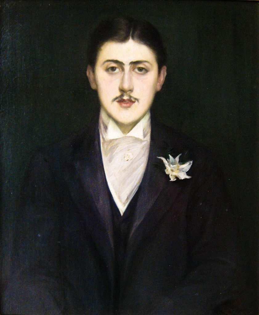 marcel proust portresi