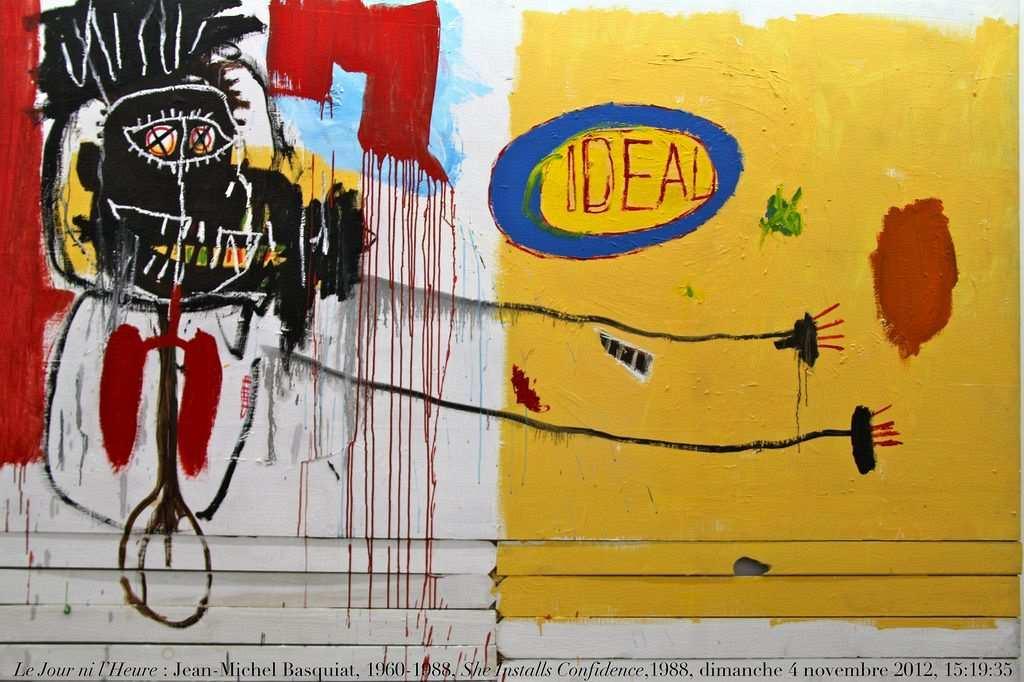 She Installs Confidence, 1988, Basquiat