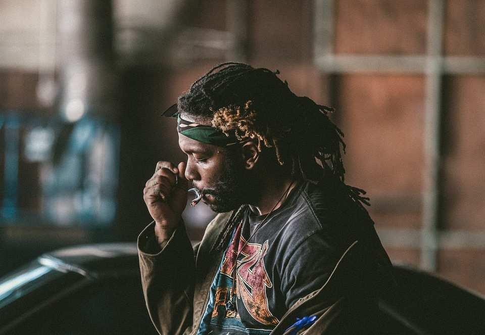 rastafarian man