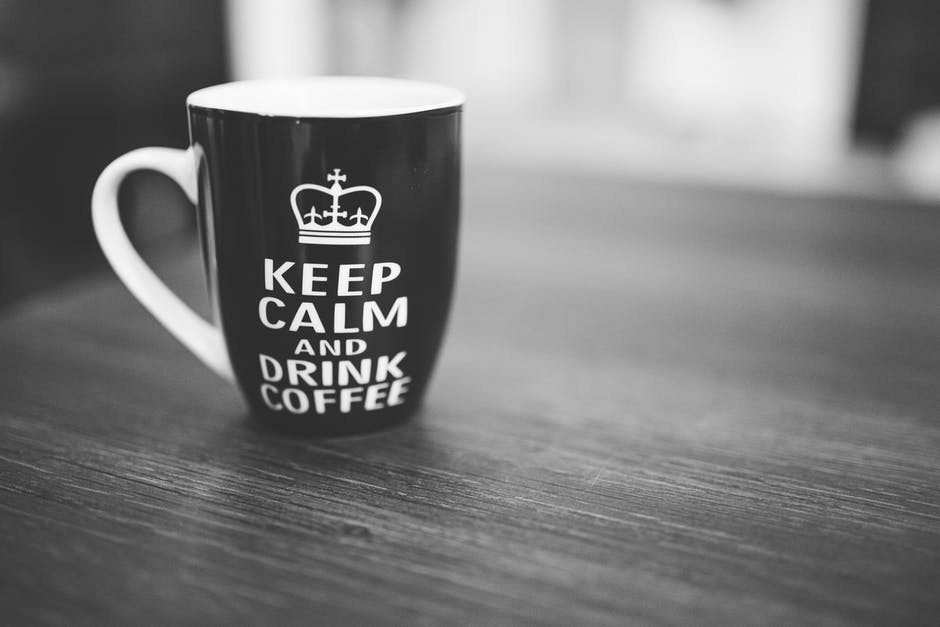 keep calm and drink coffee finch