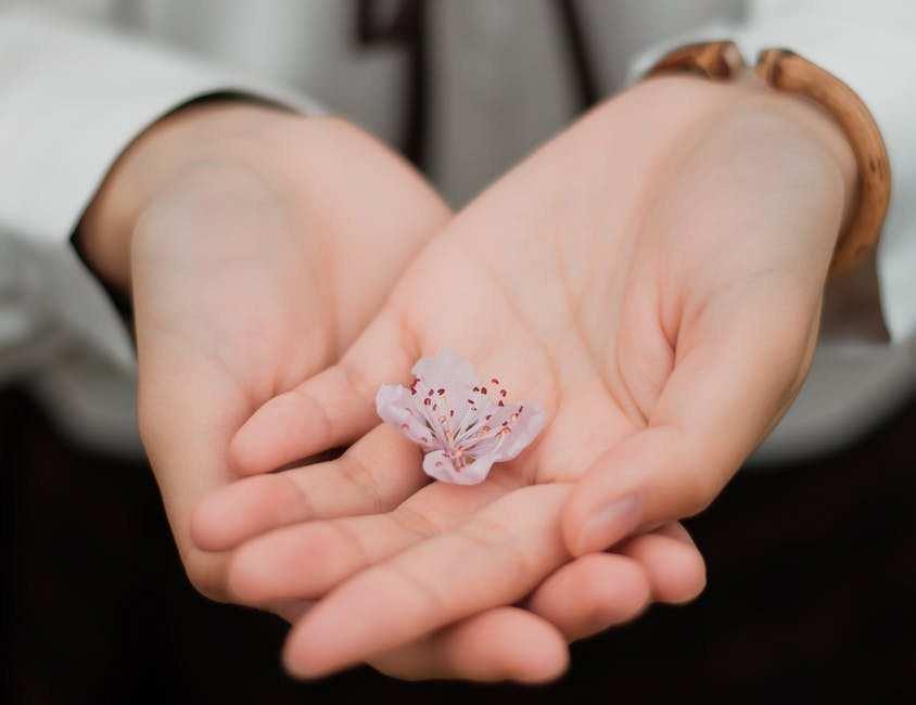 eller çiçek