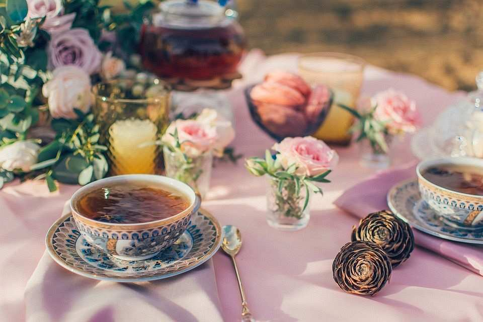 porselen çay takımı