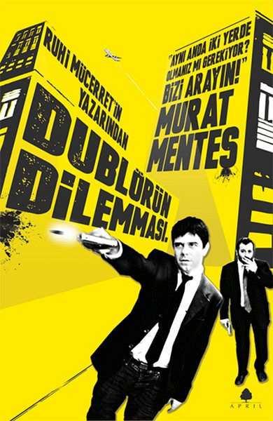 dublörün dilemması kitap kapağı