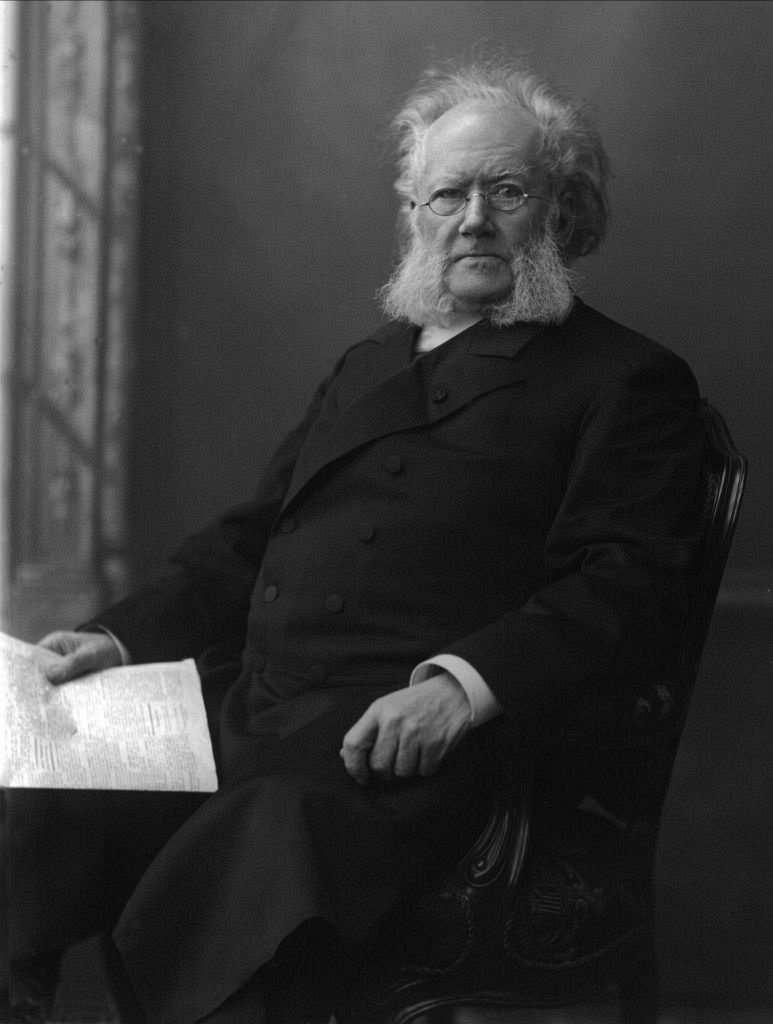 Henrik Ibsen by Gustav Borgen