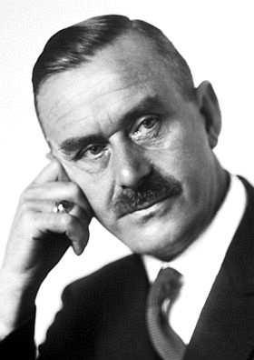 Thomas mann siyah beyaz fotoğraf 1929