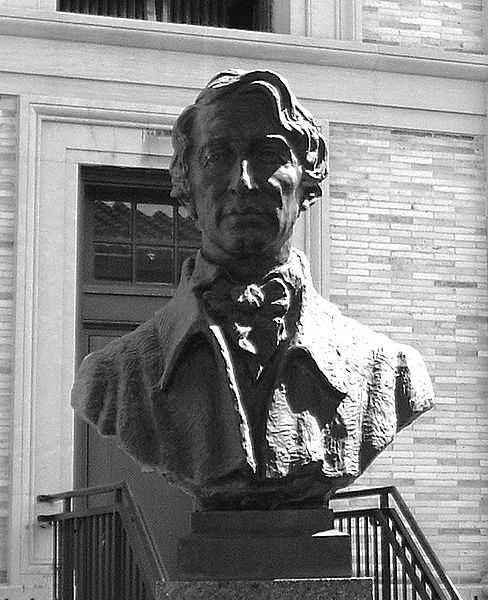 Henry David Thoreau büst