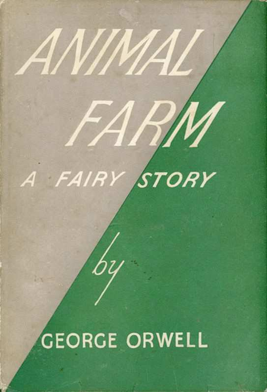 animal farm 1st edition book