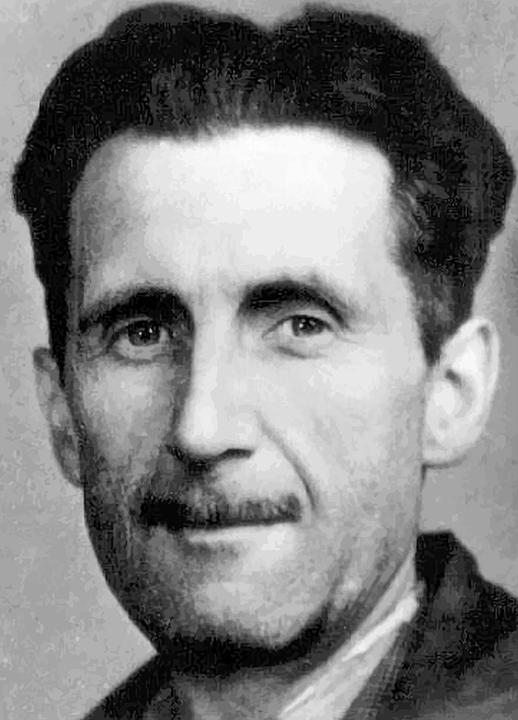 george orwell portre