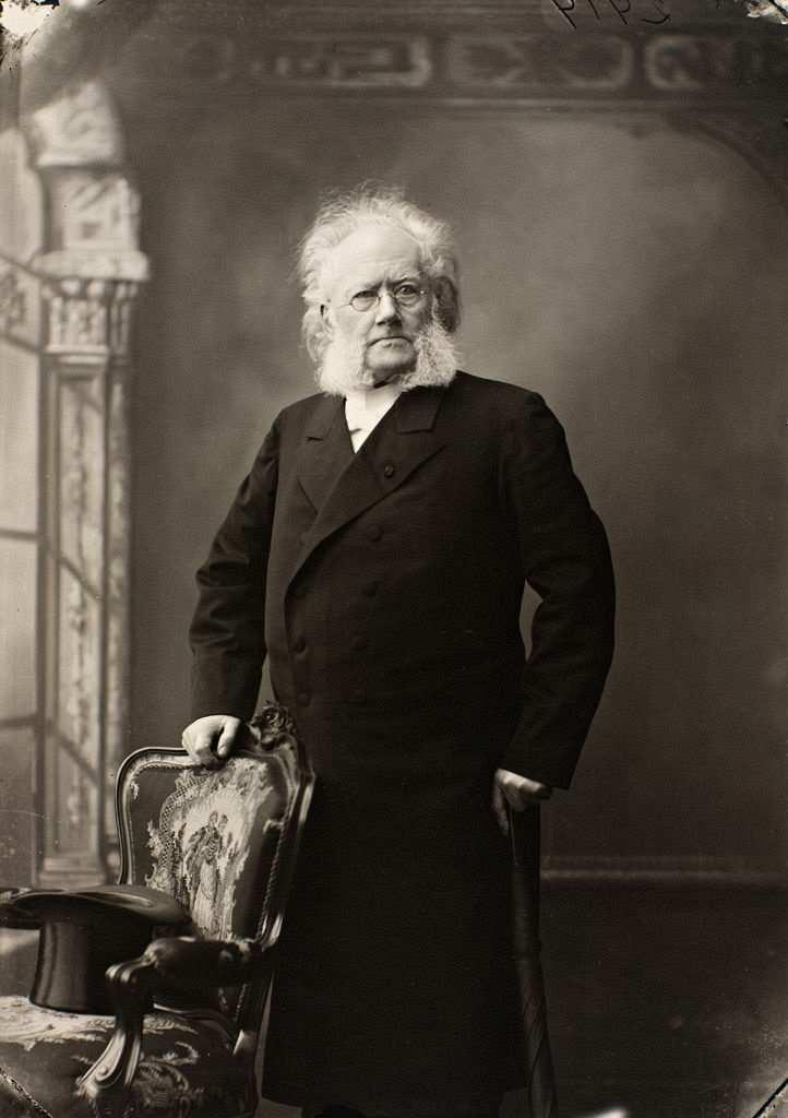 henrik ibsen 1901 portre
