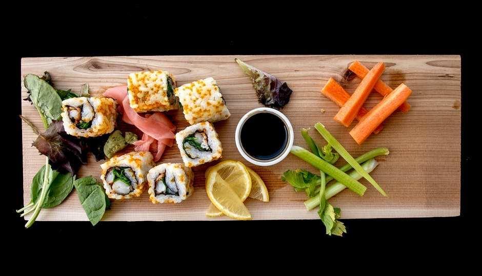 karışık sushi tabağı
