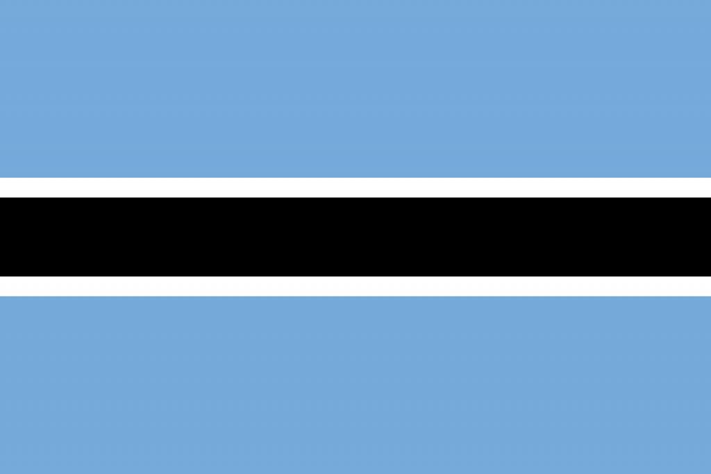 Botsvana Bayrağı