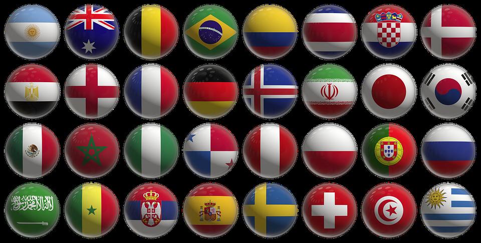2018 dünya kupası ülkeler
