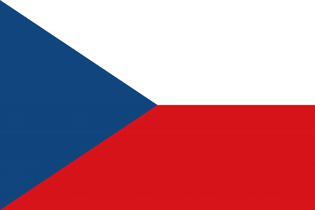 çek cumhuriyeti bayrağı