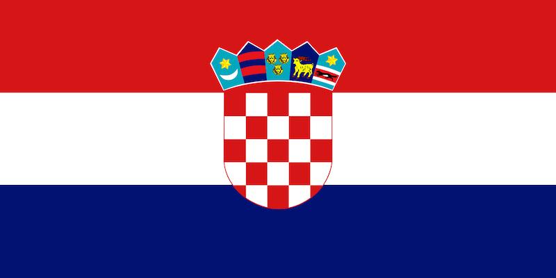 hırvatistan bayrağı