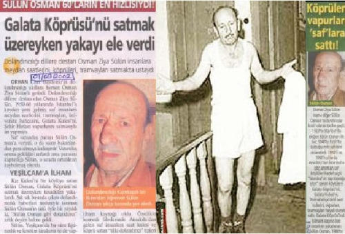 sülün osman yakalandı haberi