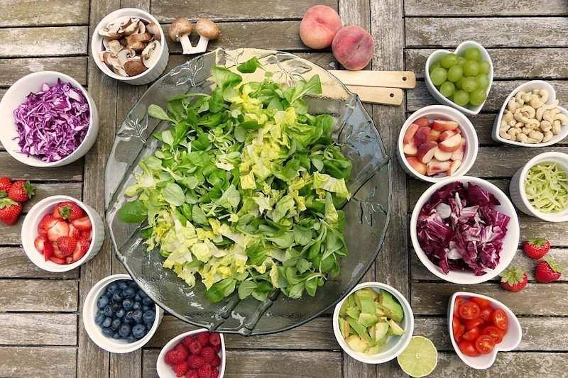 salata malzemeleri