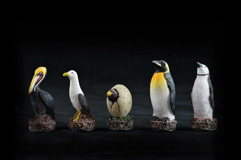 gokyay satranc muzesi penguen satranc takimi