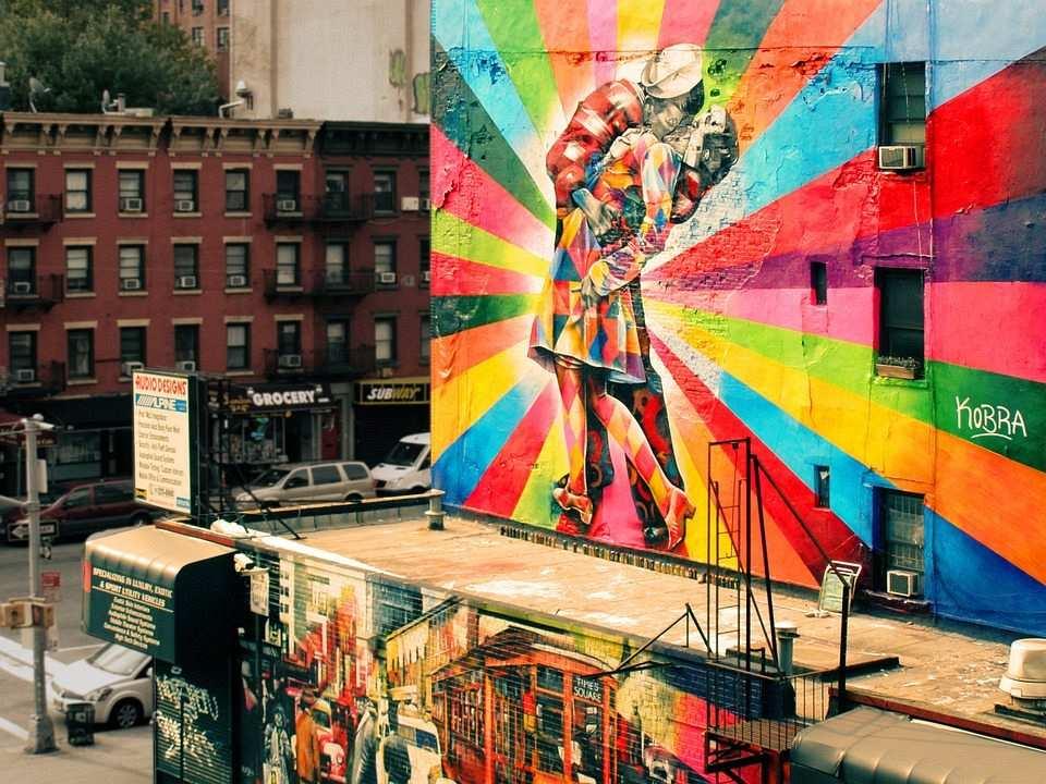 sokak sanatı mural