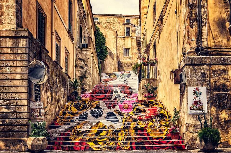 sokak sanatı kaldırım sanatı