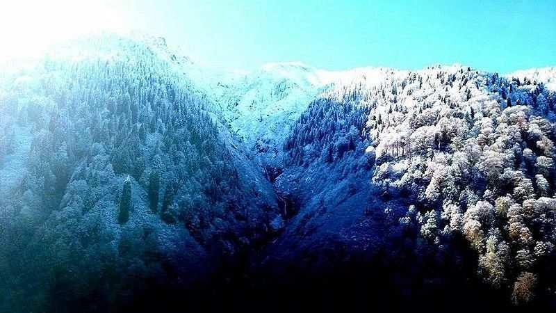 kış tatili rize ayder yaylası
