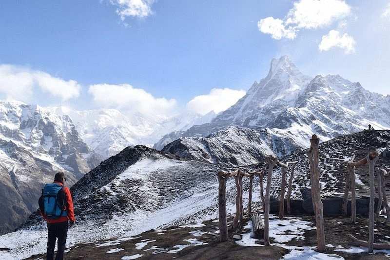 kış kampı dağ yürüyüşü