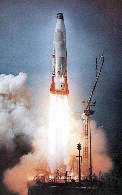 en güçlü 10 silah ICBM Atlas-B