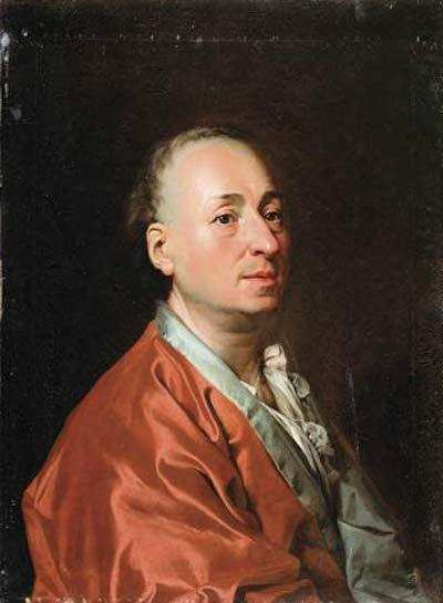 deniz diderot by Dimitry Levitzky