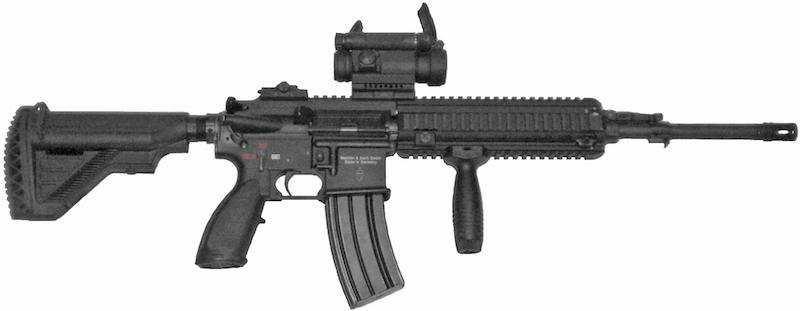 en güçlü 10 silah hk416