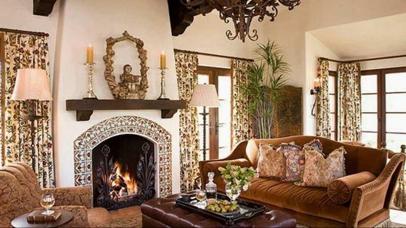 kolonyal stil ev dekorasyonu