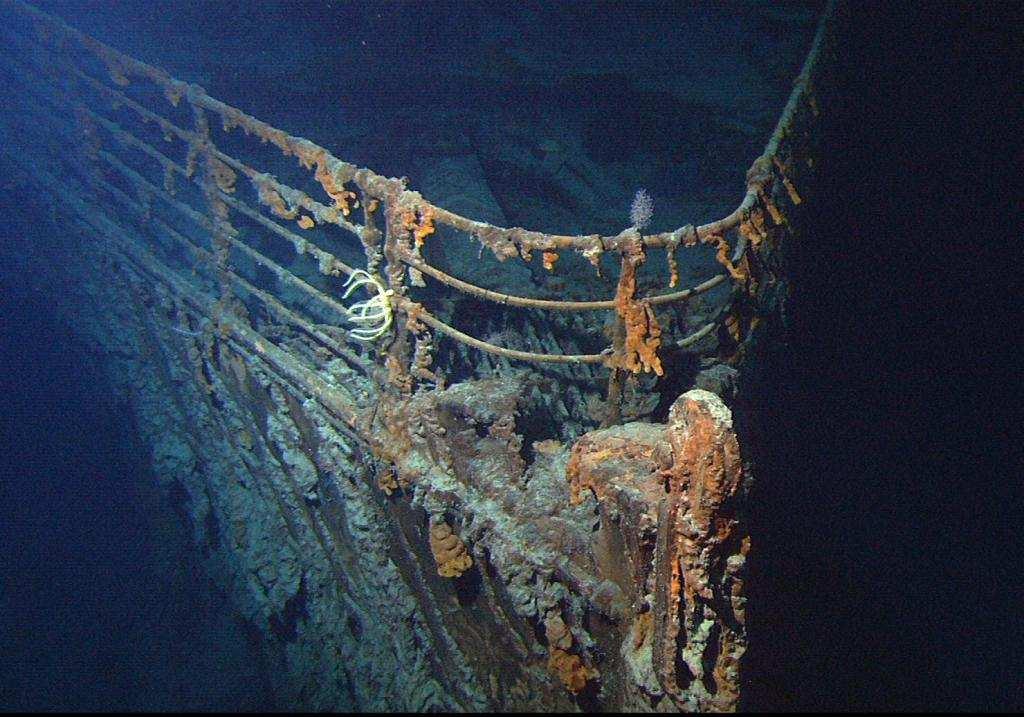 kayıp sualtı şehirleri titanik enkazı