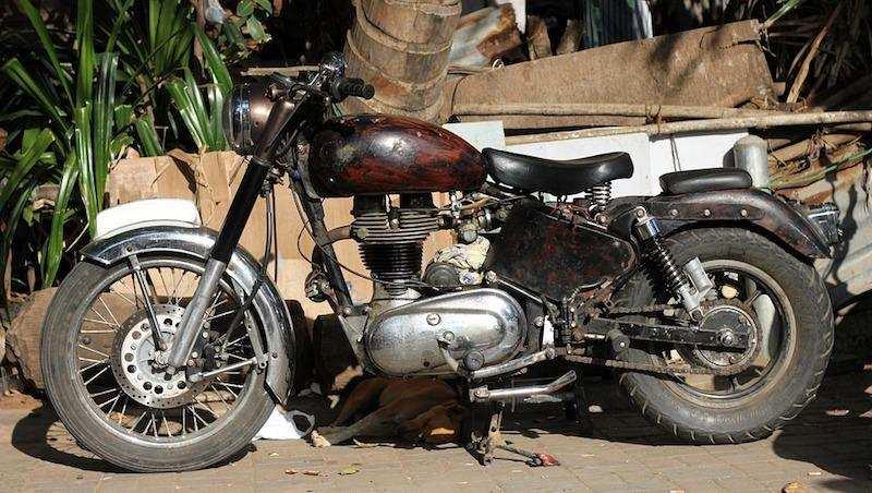 vintage motosiklet