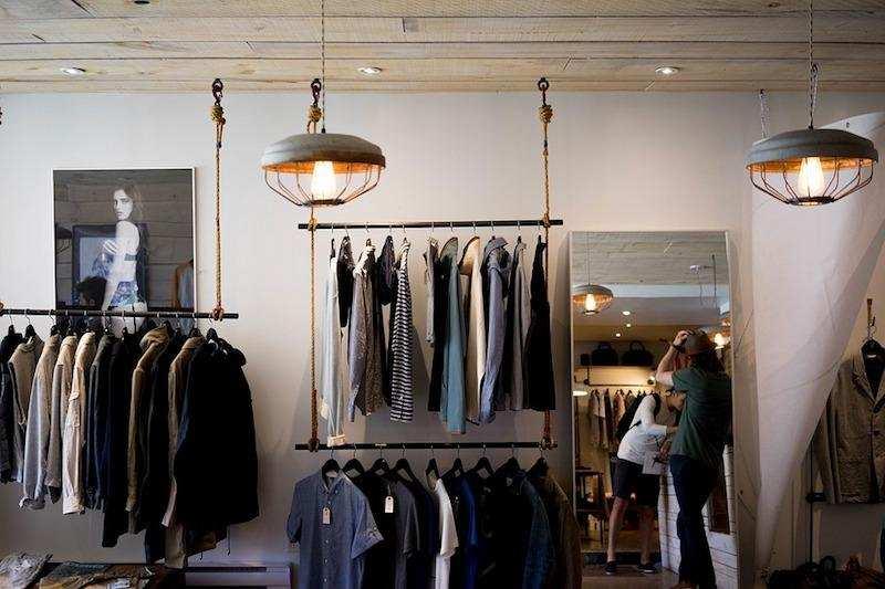 kıyafet satış mağazası