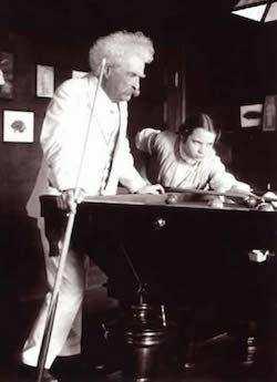Mark Twain ve Louise Paine