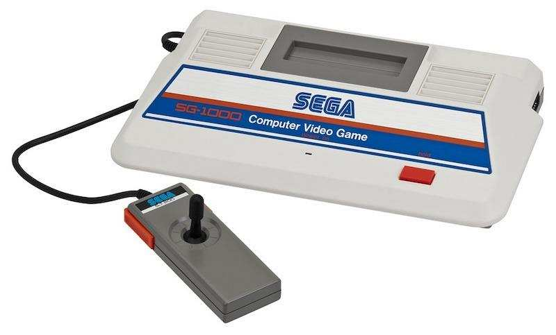 oyun konsolları sega SG 1000