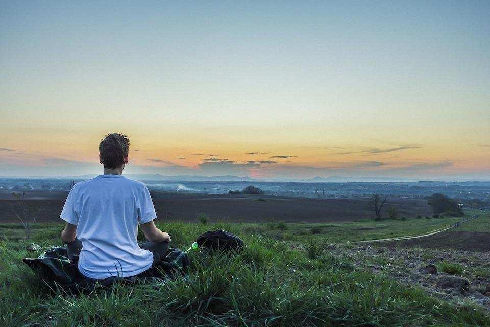 kabullenmek meditasyon doğa