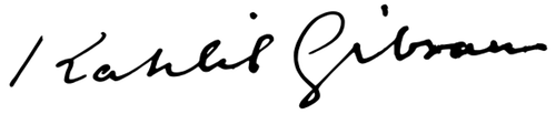 halil cibran imza