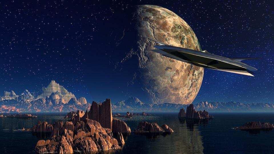 bilim kurgu dünya evren