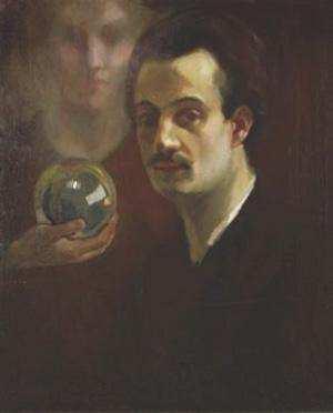 Halil Cibran kendi portre