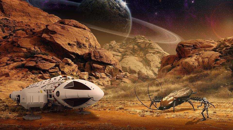 bilim kurgu türleri uzay