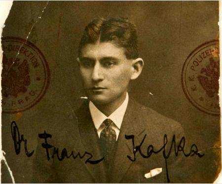 Franz Kafka İsrail milli kütüphanesi arşivi