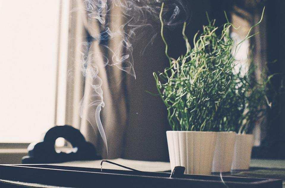 tütsü bitki masa