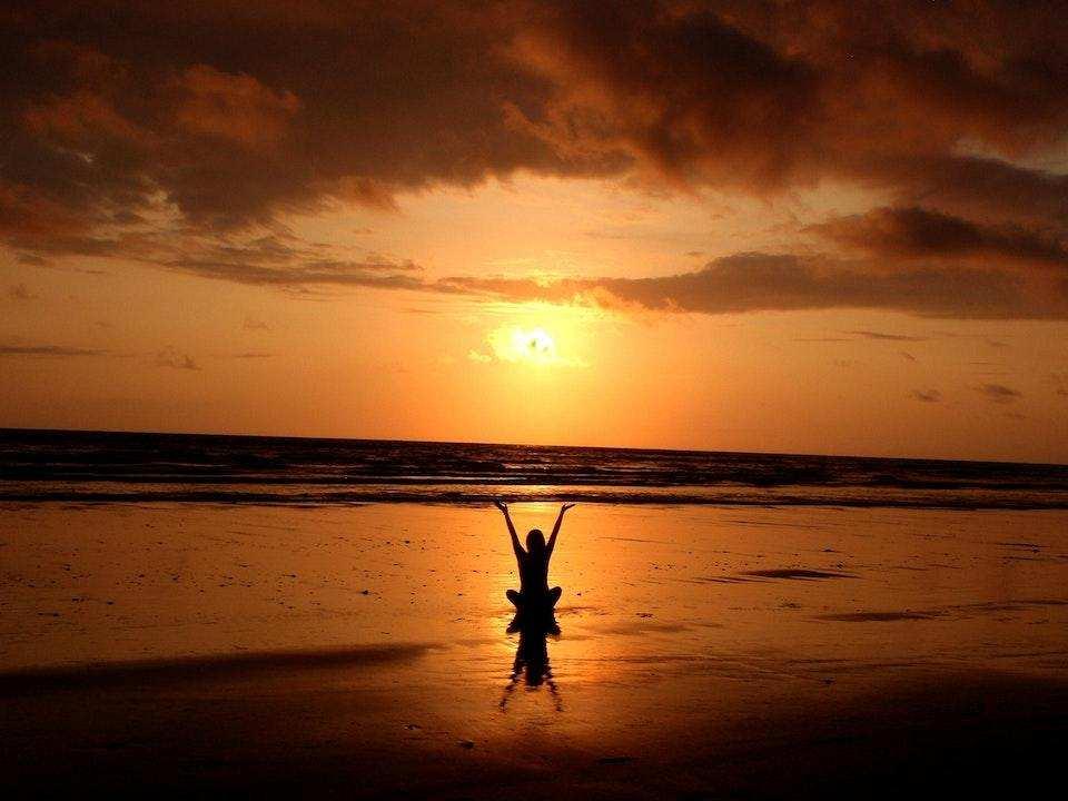 meditasyon günbatımı