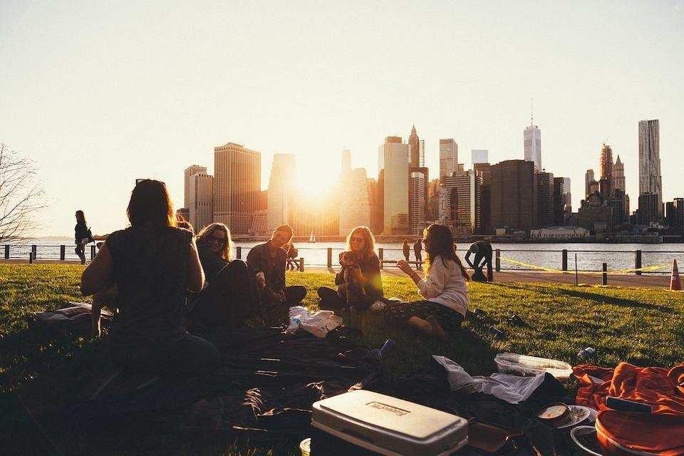 piknik şehir insanlar
