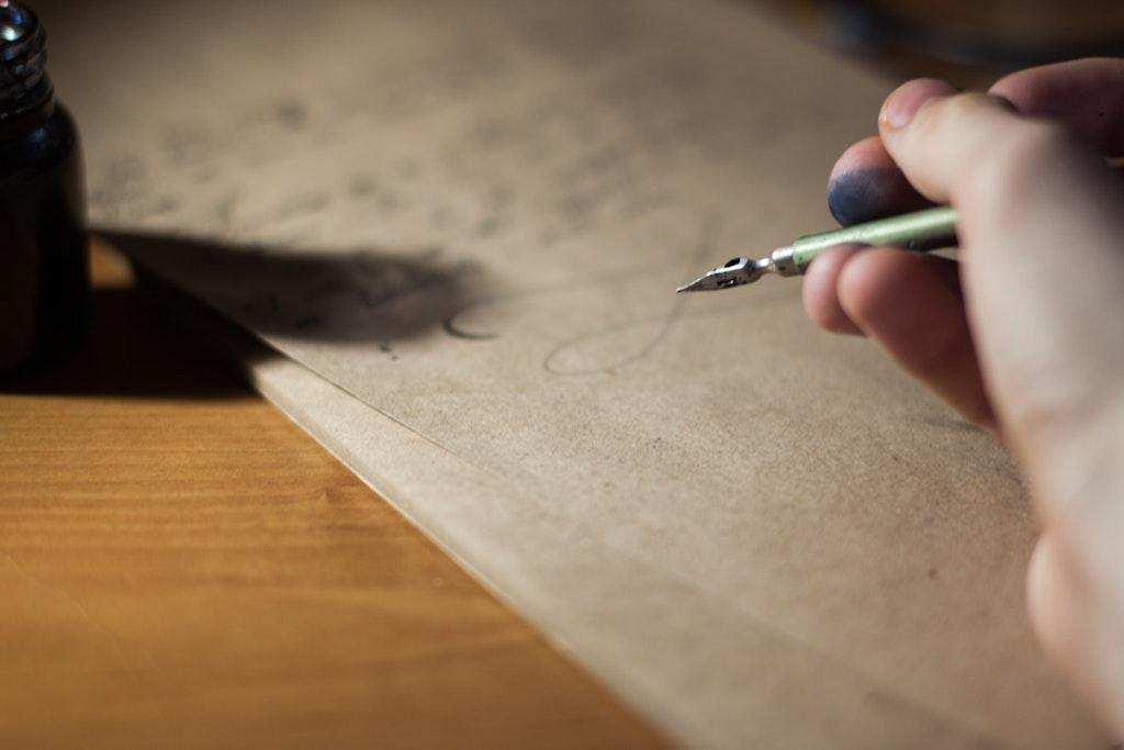 el yazısı kağıt grafoloji