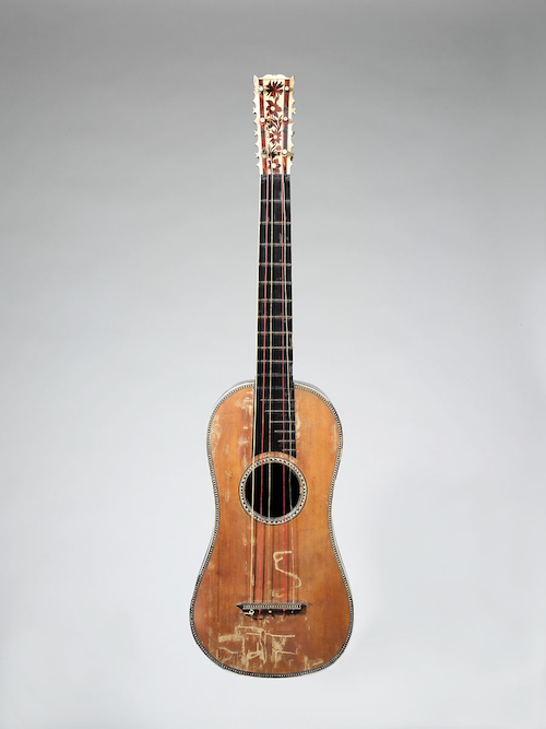 Joachim Tielke Baroque Guitar