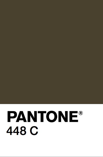 pantone 448 c