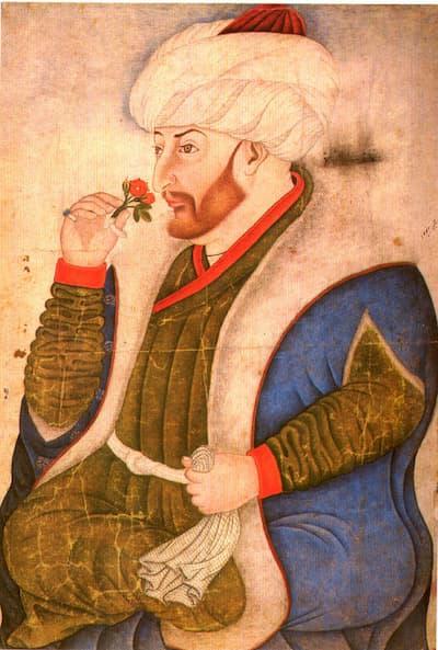 fatih sultan mehmet minyatür